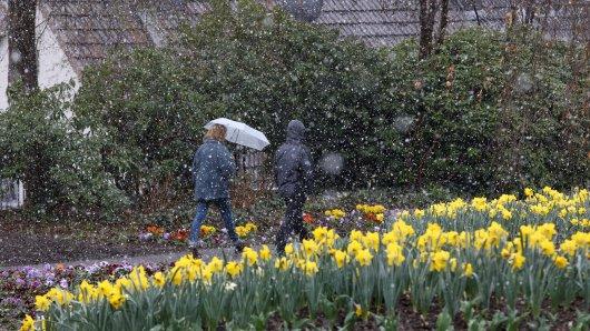 Das Wetter in NRW hat es zum Wochenstart in sich. (Symbolbild)