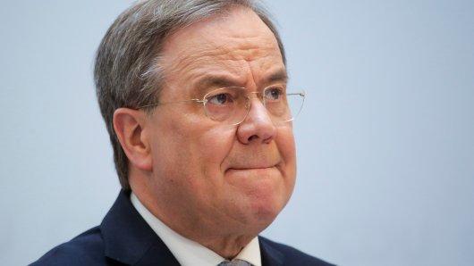 Armin Laschet: Der NRW-Ministerpräsident schnitt bei der Unions-Fraktionssitzung schlecht ab. (Symbolbild)
