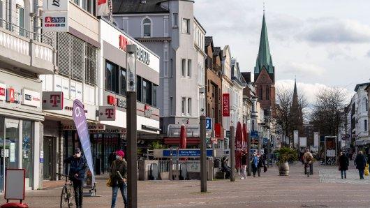 In Herne (NRW) gilt ab Freitag eine nächtliche Ausgangssperre.