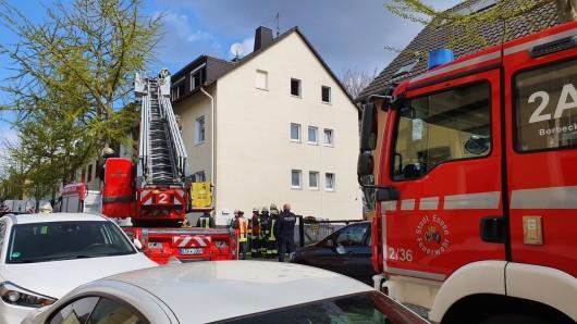 Essen: In einem Mehrfamilienhaus hat es einen schlimmen Brand gegeben.