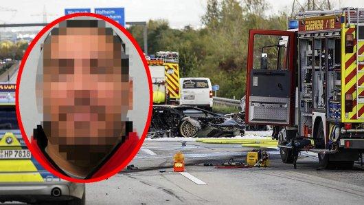 Dieser Lambo-Raser aus NRW soll an einem tödlichen Unfall auf der A66 in Hessen mitverantwortlich sein.
