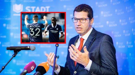 Bochums Oberbürgermeister Thomas Eiskirch hat einen wichtigen Appell vor dem möglichen Aufstieg des VfL. (Symbolbild)