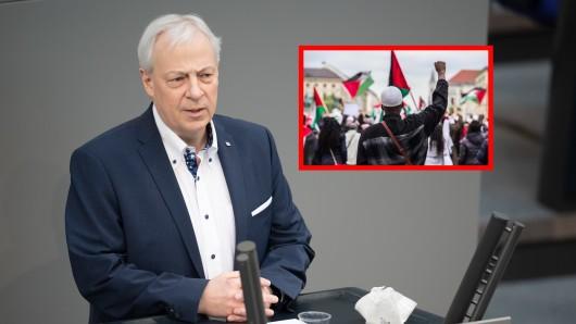 Gelsenkirchen: Der SPD-Bundestagsabgeordneter, Markus Töns ist nach der Anti-Israel-Demo besorgt. (Symbolbild)