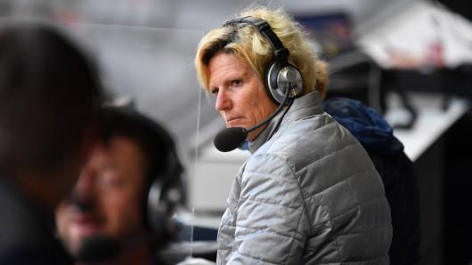 Sportstudio (ZDF): Claudia Neumann muss sich einiges anhören.