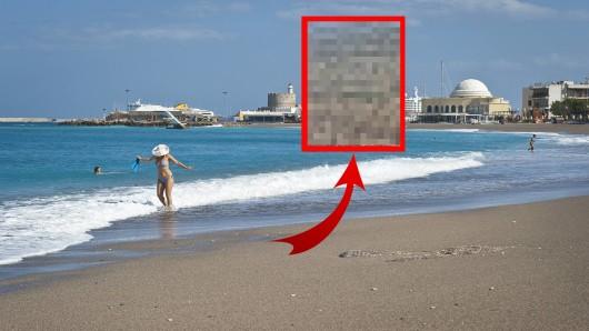 Urlaub auf Rhodos: Eine Frau machte eine neue Entdeckung im Meer. (Symbolbild)