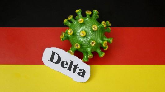 Die besonders ansteckende Delta-Variante ist in derCorona-Pandemie in Deutschland zur vorherrschenden Mutante geworden.