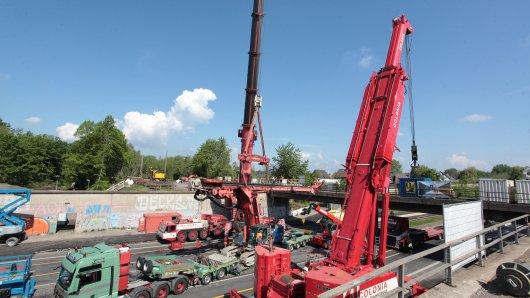 A40 bei Mülheim: Die Autobahn wird für Bauarbeiten erneut vollgesperrt.