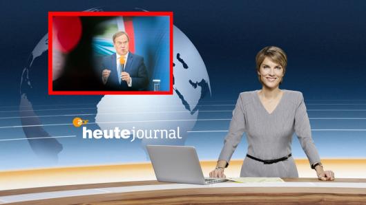 Armin Laschet: CDU-Anhänger sind wütend auf das heute-journal. (Symbolbild)