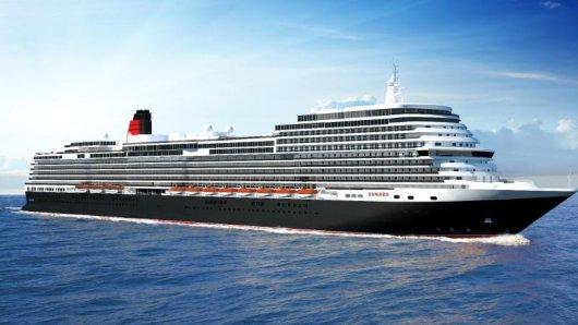 Cunard lässt von der Fincantieri-Werft in Italien ein viertes Schiff bauen.