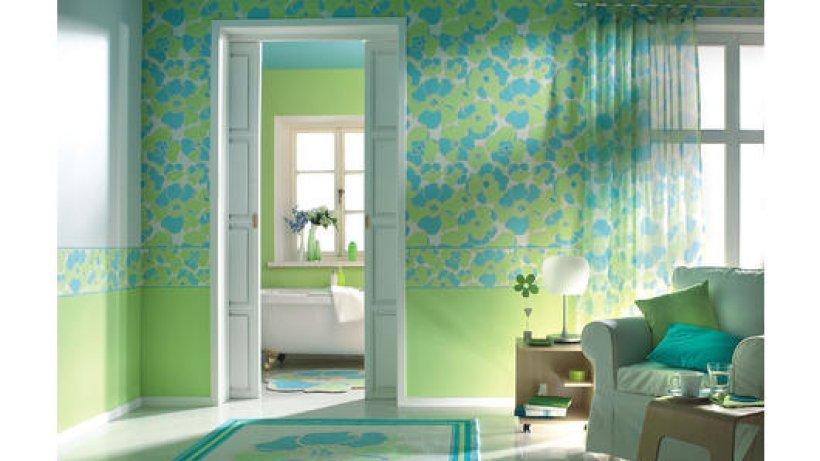 raufaser ist trotz muster und fototapete modern wohnen. Black Bedroom Furniture Sets. Home Design Ideas