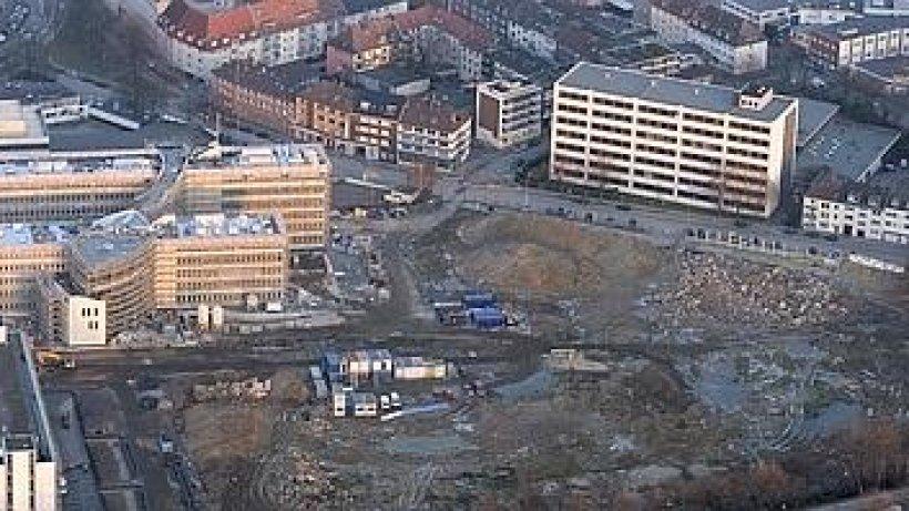 Wirtschaftsfl chen noch viel platz auf dem siemens areal for Siemens platz