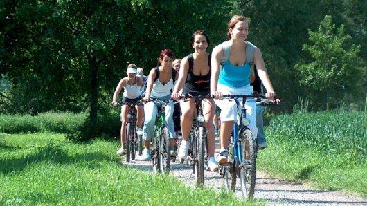 Neuer Radweg führt durch vier Flusslandschaften in Franken.