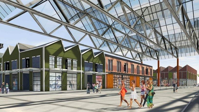 outlet center architekt h lt outlet center duisburg f r. Black Bedroom Furniture Sets. Home Design Ideas