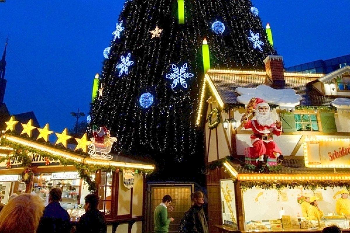 Dortmunder Weihnachtsmarkt Stände.Startschuss Für Den Dortmunder Weihnachtsmarkt Dortmund Derwesten De