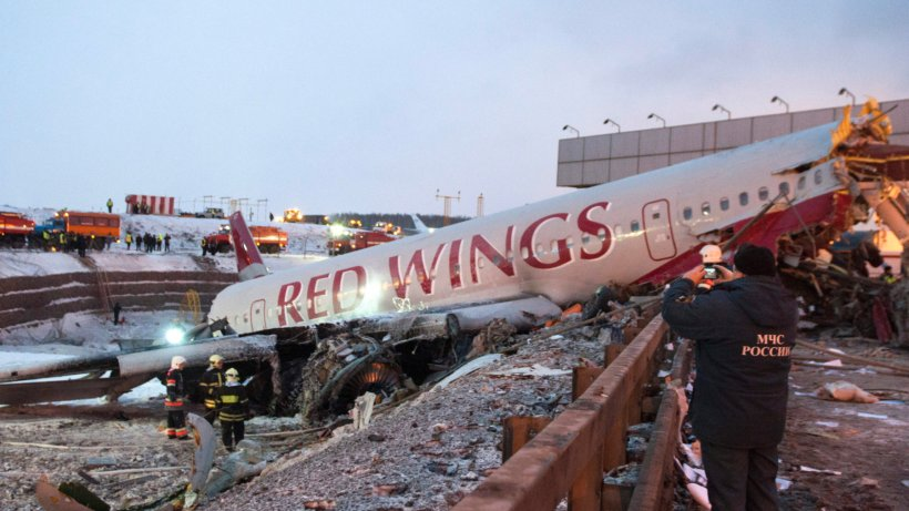 Flugzeugunglück Moskau