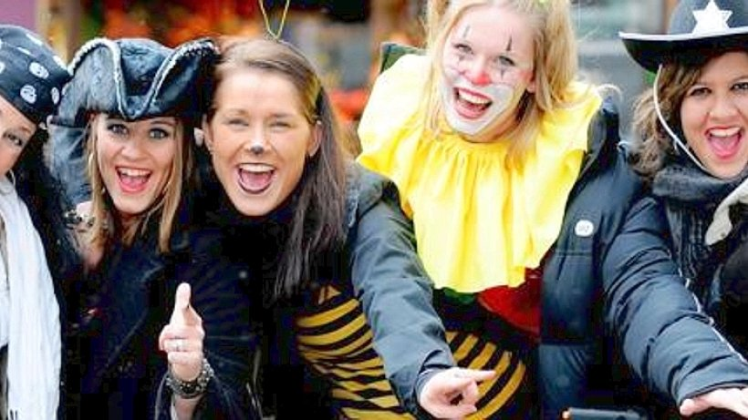 Jeder Jeck ist anders - wo Rüttenscheid Karneval feiert