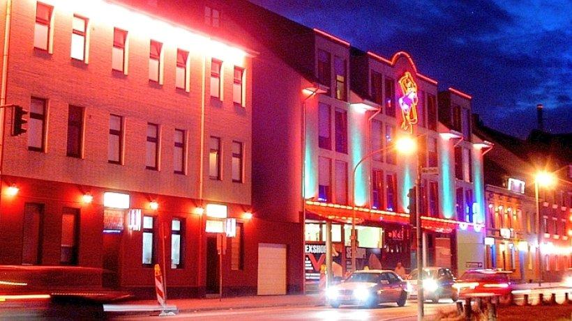 Rotlichtviertel - Beratungsstelle für Prostituierte in