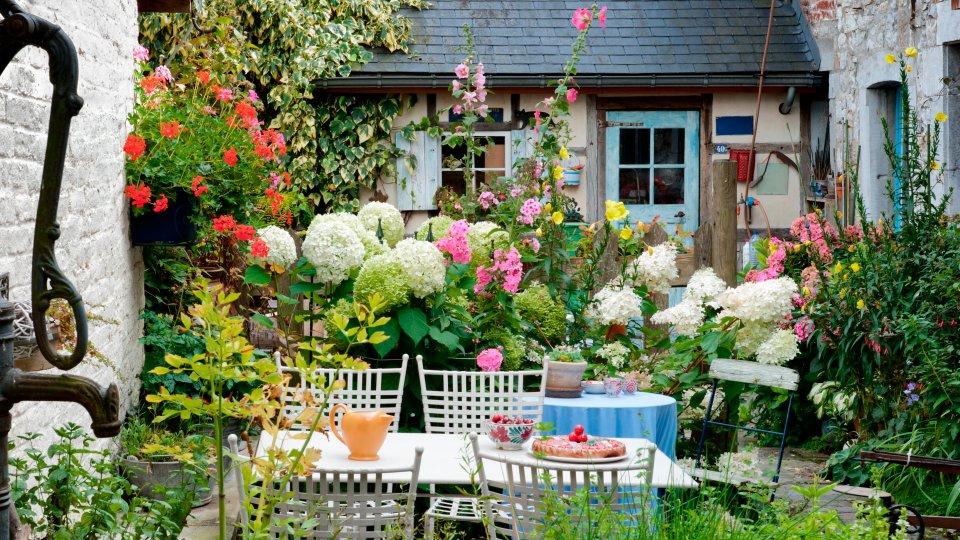 wuchshöhe - den sitzplatz im garten mit den richtigen pflanzen, Best garten ideen