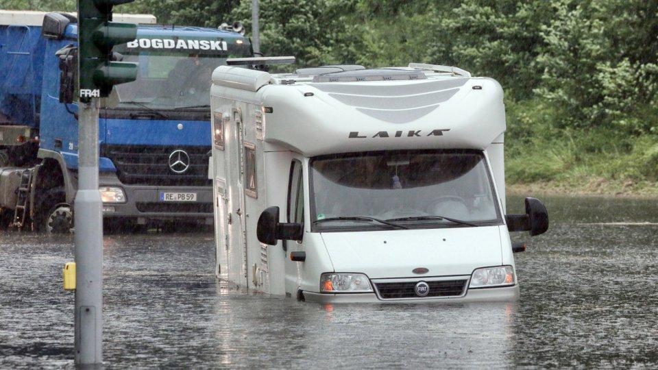 Unwetter Richtet In Nrw Große Schäden An Region Derwestende