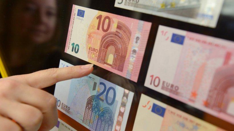 geld ezb pr sentiert den neuen zehn euro schein so sieht er aus wirtschaft. Black Bedroom Furniture Sets. Home Design Ideas