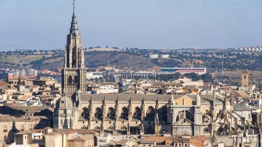 Die Kathedrale von Toledo - hier liegt der Großteil der Reinoldus-Reliquien.