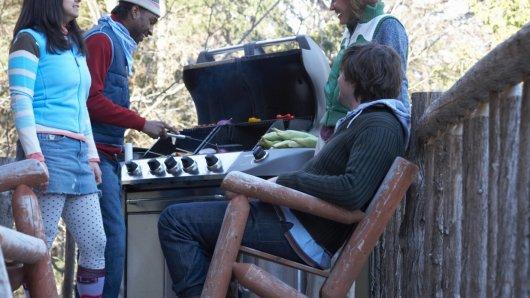 Grillen im Winter. Foto: Thinkstock