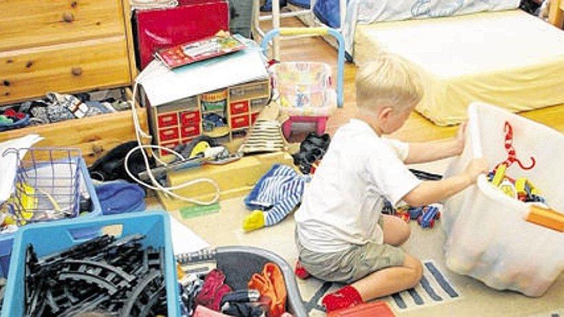 Eltern unordnung im kinderzimmer ist wichtig for Kinderzimmer unordnung