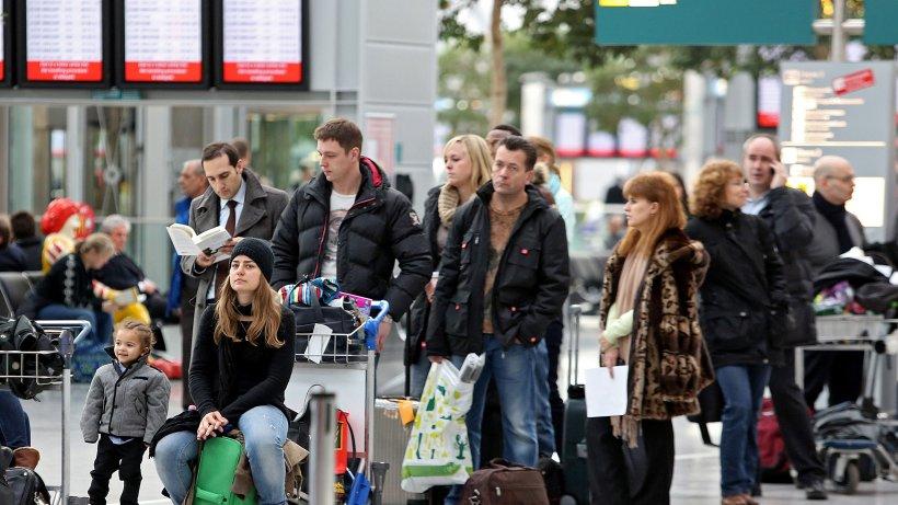 Warnstreik Flughafen Düsseldorf