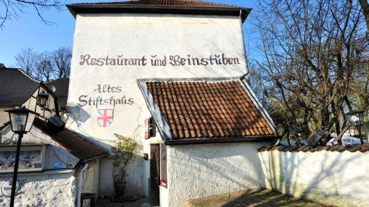 Foto für Gastrokolumne in Essen am 12.3.2014. Hier das Gasthaus / Pizzeria  Bei Gino