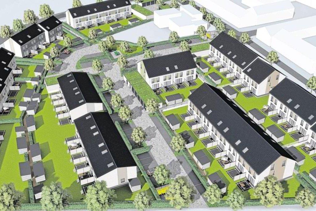 Neue Siedlung In Osterfeld Entsteht Ab Herbst   Oberhausen   Derwesten.de