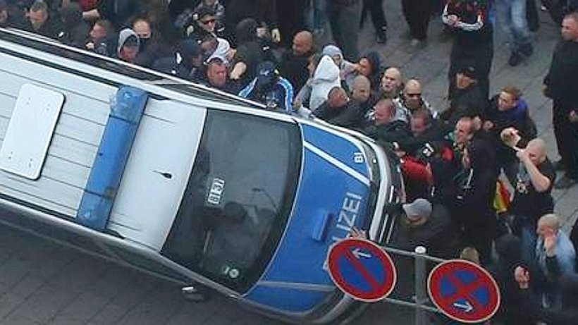 Köln Salafisten Demo