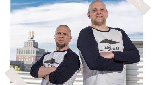 Peter Kalina und Dominik Marzodko aus Dortmund sind das Team Alcatraz. Unter dem Namen sammeln sie Geld für gute Zwecke.