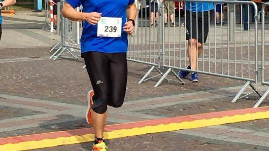 Laufblogger Stefan Reinke beim Dortmunder Citylauf.