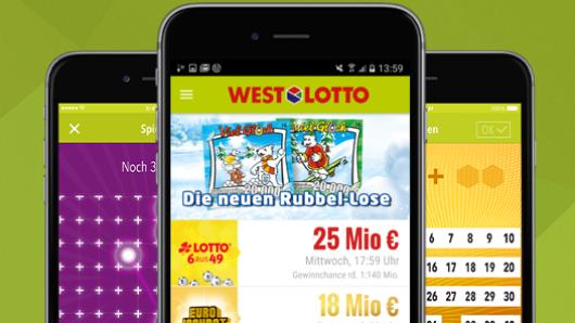 """Die WestLotto-App steht beim """"Show your App Award"""" zur Wahl."""