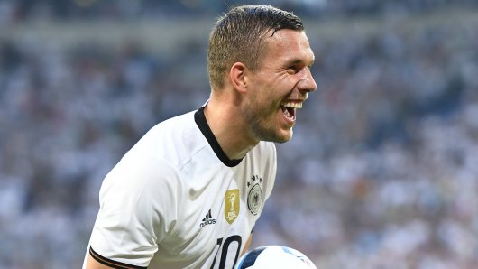 Lukas Podolski bestreitet am 22. März sein 130. und letztes Spiel für die Nationalelf.