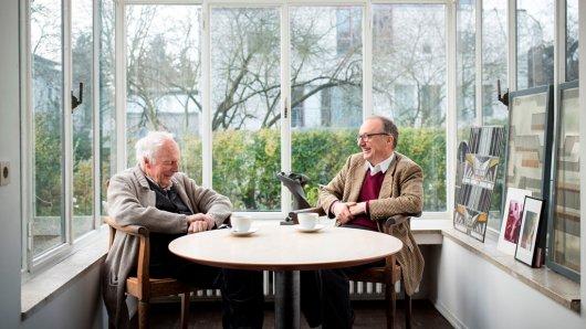Gottfried Böhm und sein Sohn arbeiten in Köln als Architekten.