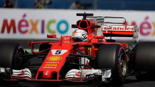 Die Luft ist beim Formel-1-Rennen in Mexiko besonders dünn – nicht nur für Ferrari-Fahrer Sebastian Vettel