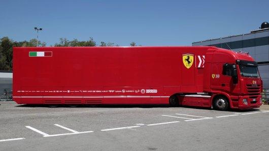 Formel 1: Im Truck machten Ferrari-Mitarbeiter eine erschreckende Entdeckung.