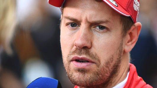 Formel 1: Sebastian Vettel ist enttäuscht.