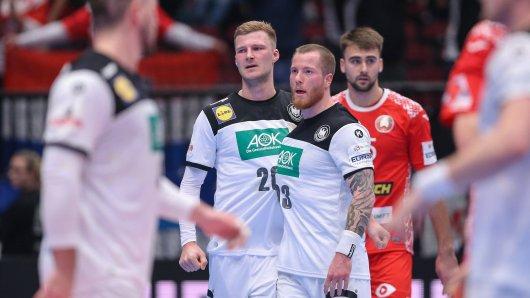Bei der Handball EM 2020 wirkt Deutschland gegen Weissrussland wie ausgewechselt.