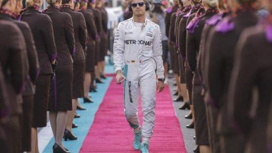 Nico Rosberg hat es in zehn Jahren vom Debütanten zum Weltmeister geschafft.