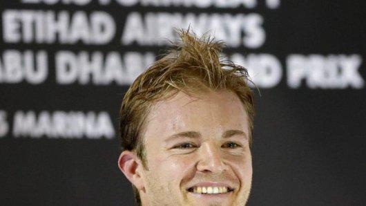 Nico Rosberg wird von der Presse gefeiert.