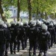Die Polizei wird am Montagabend mit einem Großaufgebot in Düsseldorf anrücken.