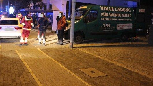 Nach dem Angriff: Polizei und Rettungskräfte waren vor Ort.