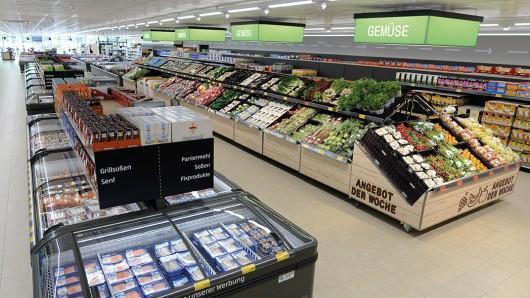 Obst und Gemüse gibt es bei Aldi Süd bald nicht mehr erst am Ende des Einkaufs.