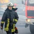 Die Feuerwehr in Mülheim.