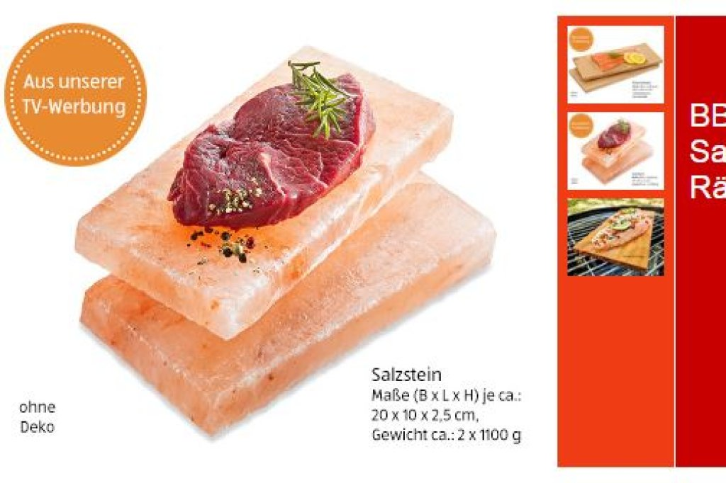 Aldi Gasgrill Prospekt : Aldi salzsteine explodieren im backofen und grill rückruf