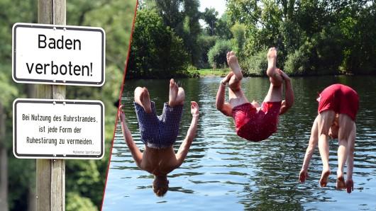 Am Ruhrstrand Mülheim soll man bald wieder in der Ruhr baden können.