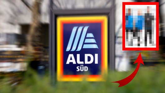 Aldi Süd: So hast du die Mitarbeiter des Discounters noch nie gesehen. (Symbolbild)