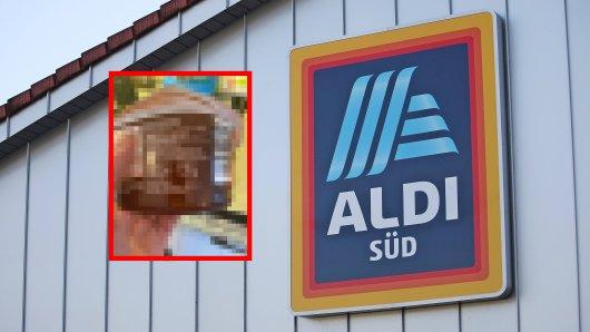 Nach dem Einkauf traut Aldi-Kunde kaum seinen Augen. (Symbolbild)